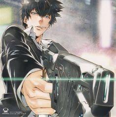 PSYCHO-PASS (サイコパス) - Shinya Kougami (狡噛 慎也)