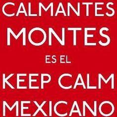 Keep calm mexicano