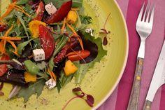 Regalices: Ensalada improvisada de verano #Ponunaensaladaentuverano 2015# Meat, Chicken, Food, Salads, Summer Time, Essen, Meals, Yemek, Eten