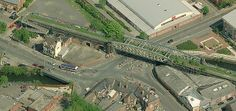 RIP Great Central Railway Bowstring Bridge Leicester 2009 Building A Swimming Pool, Old Train Station, Genius Loci, British Rail, Sense Of Place, Nottingham, Leicester, Abandoned Places, Historical Photos
