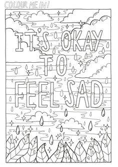 Your Feelings Are Valid 3 Colouring PagesColoring BooksFacebook