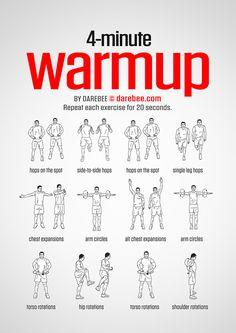 4 Minute Warmup