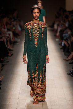 Valentino / S14 / High Fashion / Ethnic & Oriental / Carpet & Kilim & Tiles & Prints & Embroidery Inspiration /