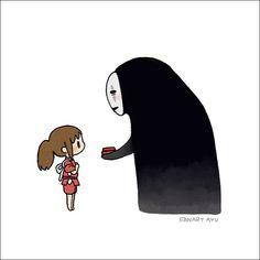 Studio Ghibli Spirited Away, Snoopy, Animation, Japan, Disney, Illustration, Cute, Anime, Fictional Characters