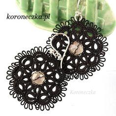 http://koroneczka.pl/ #frywolitki #tatting #koroneczka #occhi #tatting_earrings