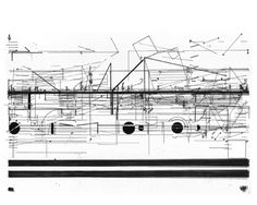 Pages 94-115 of Cornelius Cardew's Treatise (1963-67)  from Interview with Keith Rowe