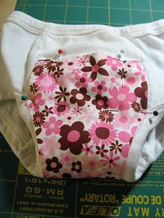From Rachel Smith- Love ya girl!  DIY cloth training pants