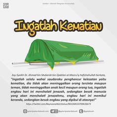 Hanya orang yang cerdas yang mengingat kematian dan mempersiapkan untuk hari itu.. . #indonesiabertauhid #kematian #mati . _______________________ Follow: @jogja.mengaji Follow: @indonesiatauhid Follow: @indonesiabertauhidtv Follow: @indonesiabertauhidstore Follow: @indonesiabertauhidofficial Muslim Quotes, Religious Quotes, Islamic Quotes, Quran Quotes, Qoutes, Life Quotes, Alhamdulillah, Hadith, Normal Quotes