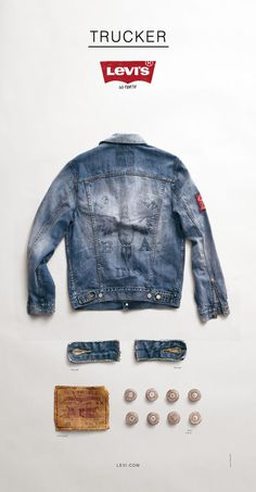 Kiosk trucker, Levi's Work Wear Campaign, Wieden + Kennedy Portland, Levi`s, Impresos, Al aire libre, Publicidad