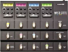 Line 6 M13 Stompbox Modeler Guitar Multi Effects Pedal | GuitarCenter         Just bought this, best $360 ever spent.