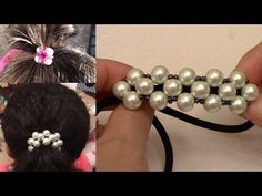 MarielBeadsandBeyond channel is dedicated to make step by step video tutorials of Handmade Jewelry, Learn how to make Custom Jewelry, DIY Bracelets, Necklace. Bracelet Crafts, Beaded Bracelets, Beaded Earrings, Diy Hair Elastics, Handmade Crafts, Handmade Jewelry, Crochet Hair Clips, Hair Decorations, Beaded Jewelry Patterns