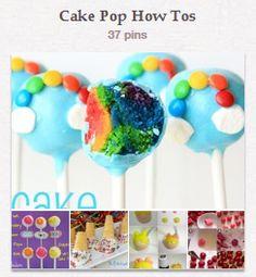 Cake Pop How-Tos Pinterest