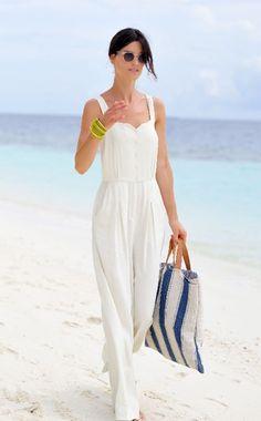 Hanneli on the beach
