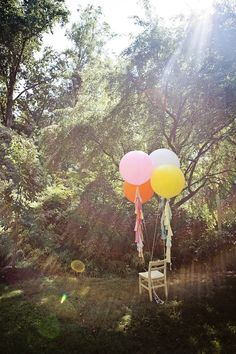 50 of Etsy's Coolest Wedding Finds via Brit + Co. Have a bunch of balloons for a photobooth backdrop