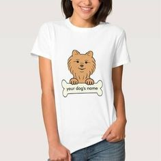 Personalized Pomeranian Shirt - Brought to you by Avarsha.com