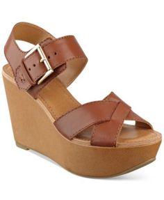 Tommy Hilfiger Fizz Platform Wedge Sandals