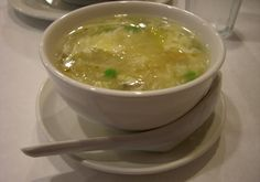 Egg Drop Soup - Egg Drop Soup is generally prepared of chicken broth, green onions and beaten eggs.