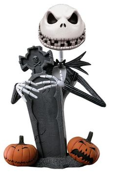 Nightmare Before Christmas Scary Jack Headknocker