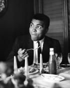 Muhammad Ali in London - Photo by Terry Fincher