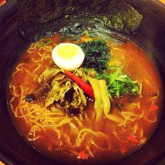 Pork Chige Ramen 4 Dinner @ Waraku Japanese Casual Dining CTW Bangkok
