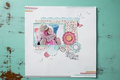 We love this layout using the Afternoon Daydream Simply Scrappin' Kit