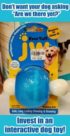 Do you have a long car ride coming up? Or an evening in a hotel room when you want to keep your dog busy? Interactive toys are great tools to keep your dog occupied! This JW Pet toy compares at $12 but sells for just $5.99 at Tuesday Morning!