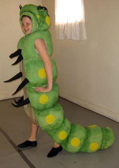 Resultado de imagen para caterpillar costume