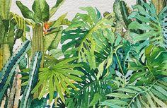 네 눈앞에 내 그림🌷 (@leegreeem) • Instagram photos and videos Watercolor Plants, Watercolor And Ink, Watercolors, Art For Kids, Plant Leaves, Floral, Flowers, Sketch, Painting