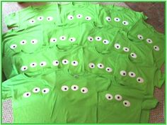 Toy Story Birthday Party Favor Alien Eye Shirts by www.BlissyCouture.com