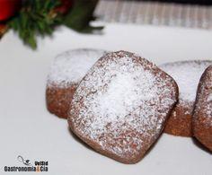 Polvorones de chocolate y naranja