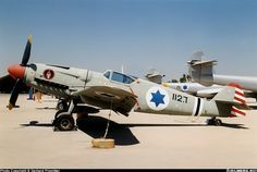 Avia S-199 of the Israeli Air Force. The S-199 was based off the Messerschmitt Bf-109.
