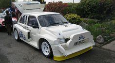 Se vende este MG Metro 6R4 que perteneció a Colin McRae # Hoy todavía nos seguimos acordando del Grupo B, aquella categoría de rallyes que destacó en la década de los 80. La espectacularidad y potencia de sus coches hacía la delicia de los aficionados, pero el ... »