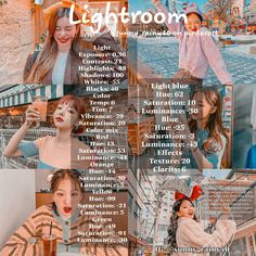 Foto Editing, Photo Editing Vsco, Lightroom Effects, Lightroom Presets, Poses, Photo Collage Template, Photography Filters, Lightroom Tutorial, Insta Photo Ideas