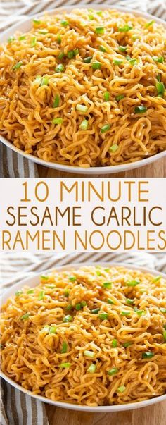 5 from 15 votes sesame garlic ramen noodle recipe Print Sesame Garlic Ramen Noodles Recipe