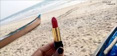 Red lipstick anyone? : StudioWest Irresistible Lipstick in Red Allure  http://www.curiousandconfusedme.com/2016/04/studiowest-irresistible-lipstick-review/ #bbloggers #beautyblogger #indianblogger #westside #studiowest #Redlipstick