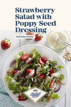 Best Salad Recipes, Salad Recipes For Dinner, Fruit Salad Recipes, Salad Dressing Recipes, Vegan Recipes, Cooking Recipes, Fruit Salads, Salad Dressings, Healthy Salads