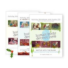 Human Body Detectives Audio & Workbook Set Only $27! (Reg. $60!) from @educents #ad