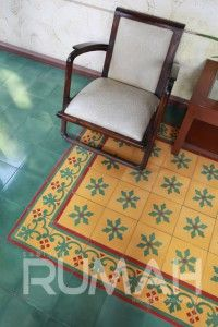 Warna warni tegel kunci cool handmade tiles from for Home decor yogyakarta