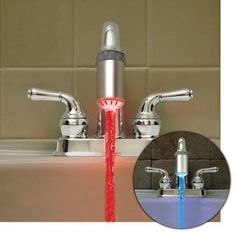 En kullanışlı buluşlar / Neon ışıklarla suyunuz böyle aksın ister misiniz?