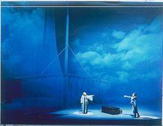 Scene from Tristan and Isolde, set by Josef Svoboda, 1978