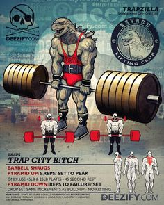 #Savage #BackDay - Trap City B!tch! SAVAGE MIND ———————– A little Repost for Trap Day Tuesday. My go-to trap exercise. Throwing plates around like a Greek wedding. If you like TrapZilla, you can get t-shirts here: http://www.deezify.com/trapzilla So...