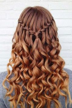 Image result for long prom hairstyles brown hair