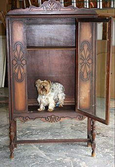 How to paint old furniture without sanding or stripping. #paintedfurniturewithoutsanding