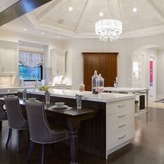 Kitchen with Round Vaulted Ceiling, Transitional, Kitchen, Kitchen Studio KC