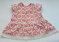 I believe I can sew...: Roses are red - little dress for the summer - Ottobre 3/2013 #16