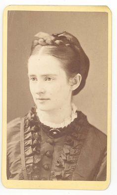 Mark Twain's wife, Olivia.