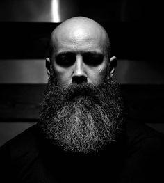 Bald Heads - Hairl Loss Tips Bald Men With Beards, Bald With Beard, Grey Beards, Long Beards, Beard Love, Moustache, Walrus Mustache, Beard No Mustache, Long Beard Styles