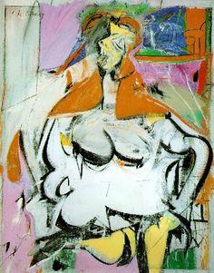 Mujer. 1946 Willem de Kooning