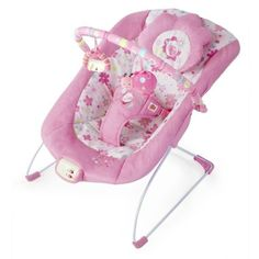 NEW Bouncer 7 Melodies Soothing Bouncer Sound Vibration Newborn Baby Auto