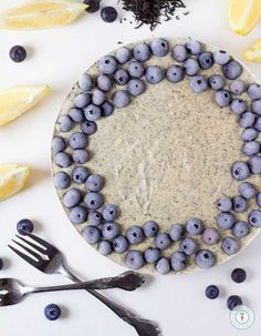 Earl Grey Lemon Cheesecake – Vegan, Gluten-free   Raw